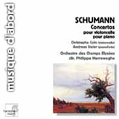 Album artwork for Schumann: Concertos / Coin, Staier, Herreweghe