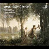 Album artwork for Gluck: Orfeo & Euridice / Jacobs, Fink, Cangemi