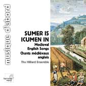Album artwork for Summer is Icumen in - Medieval English Songs/ Hill