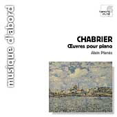 Album artwork for Chabrier: Oeuvres pour Piano / Alain Planès