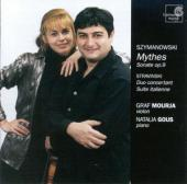 Album artwork for Szymanowski: MYTHES