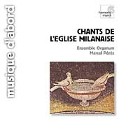 Album artwork for Chants de l'Eglise Milanaise/ Peres, Ensemble Org