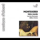 Album artwork for Monteverdi: Selva Morale / Christie, Arts Florissa