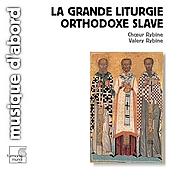 Album artwork for Grande liturgie orthodoxe slave / Rybin, Choeur Ry