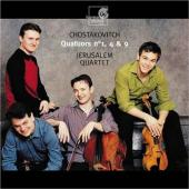 Album artwork for Shostakovitch: Quartets 1, 4, 9 / Jerusalem Quarte
