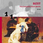 Album artwork for BIZET - COMPLETE PIANO WORKS