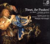 Album artwork for BACH - TONET, IHR PAUKEN