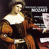 Album artwork for MOZART STRING QUARTETS