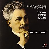 Album artwork for MOST FAMOUS CZECH STRING QUARTETS