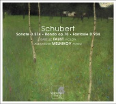 Album artwork for SCHUBERT - DUOS FOR PIANO AND VIOLIN