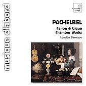 Album artwork for Pachelbel: Canon & Gigue, Chamber Works