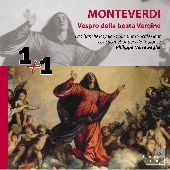 Album artwork for MONTEVERDI - VESPRO DELLA BEATA VERGINE