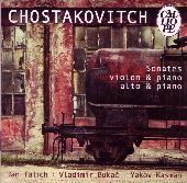 Album artwork for SHOSTAKOVICH - SONATAS FOR VIOLIN & PIANO / ALTO &