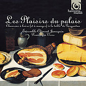 Album artwork for LES PLAISIRS DU PALAIS