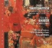 Album artwork for SHOSTAKOVICH - CHAMBER SYMPHONIES OP.110 & OP.118