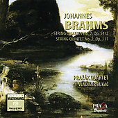 Album artwork for BRAHMS - STRING QUARTET OP. 51/2 / STRING QUINTET