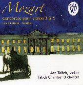 Album artwork for MOZART VIOLIN CONCERTOS NOS. 3 & 5