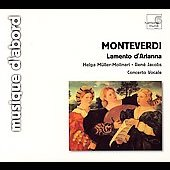 Album artwork for Monteverdi: Lamento d'Arianna / Concerto Vocale