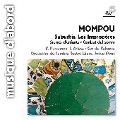 Album artwork for MOMPOU: LOS IMPROPERIOS