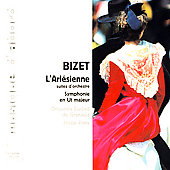 Album artwork for BIZET: L'ARLESIENNE