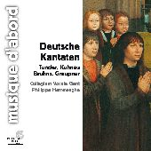 Album artwork for DEUTSCHE KANTATEN