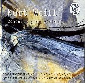 Album artwork for WEILL: VIOLIN CONCERTO