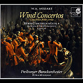 Album artwork for Mozart: Wind Concertos (Horn, Bassoon & Oboe)