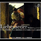 Album artwork for BRAHMS LIEBESLIEDER WALZER OP. 52 & 65