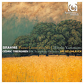 Album artwork for BRAHMS: PIANO CONCERTO NO. 1 / HAYDN VARIATIONS