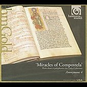 Album artwork for Anonymous 4: Miracles of Compostela