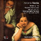 Album artwork for REICHA: OCTET OP. 96, VARIATIONS FOR BASSOON,