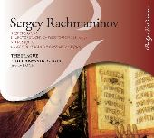 Album artwork for RACHMANINOV: VESPERS OP. 37 / LITURGY OF ST. JOHN