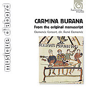 Album artwork for Carmina Burana / Clemencic Consort
