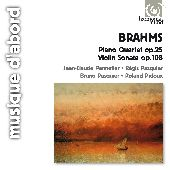 Album artwork for Brahms: Piano Quartet & Violin Sonata