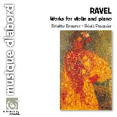 Album artwork for Ravel: Works for violin and piano