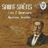 Album artwork for Saint-Saëns: Les 2 Quatuors (Quatuor Joachim)