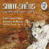 Album artwork for Saint-Saëns: Piano Concertos (Verrot)