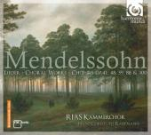 Album artwork for Mendelssohn: Lieder, Choral Works, Choeurs