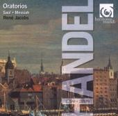 Album artwork for Handel: Oratorios - Saul, Messiah (Jacobs)