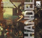 Album artwork for Handel: Arias for... / Nicholas McGegan