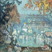 Album artwork for Brahms: Piano concerto no.2 / Yakov Zak