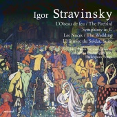 Album artwork for STRAVINSKY. The Firebird, Les Noces. Various Artis