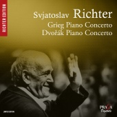 Album artwork for GRIEG & DVORAK. Piano Concertos. Richter, Prague S