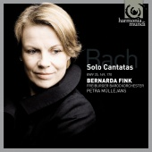Album artwork for Bach Solo Cantatas: Bernarda Fink