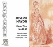Album artwork for Haydn: Piano Trios nos. 25-27 / Cohen, Hobarth
