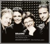 Album artwork for Brahms: String Quartet Op. 51/1, Piano Quintet