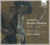 Album artwork for Telemann: Brockes-Passion / Jacobs
