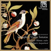 Album artwork for Pandolfi: Complete Violin Sonatas / Manze, Egarr