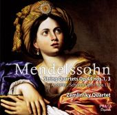Album artwork for Mendelssohn: String Quartets op. 44 nos. 1, 3