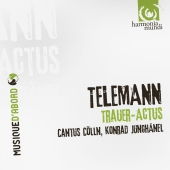 Album artwork for Telemann: Trauer-Actus